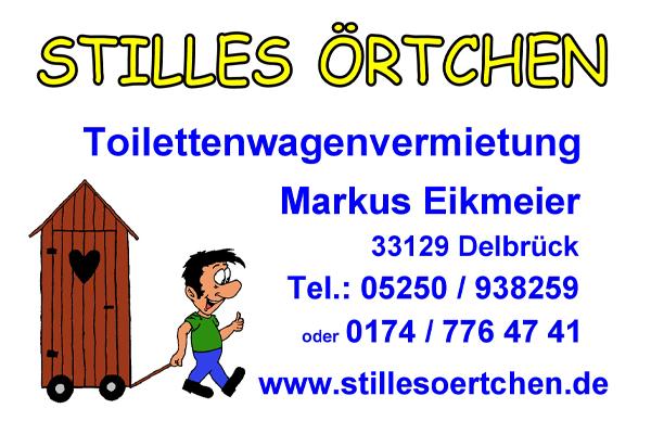 """Toilettenwagenvermietung Markus Eikmeier """"Stilles Örtchen"""""""