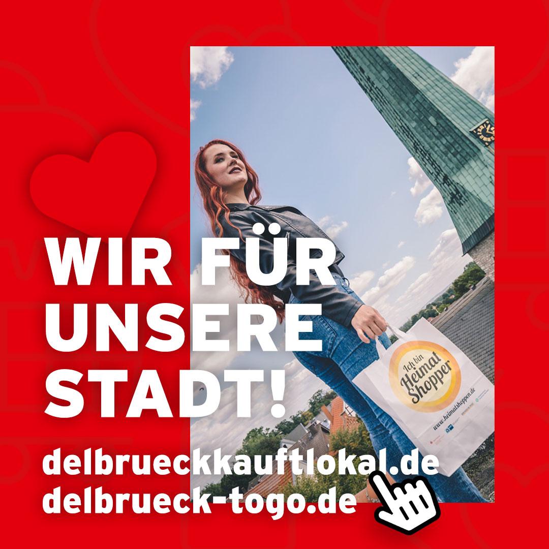 Delbrück ist für Euch da! Auch im Lockdown lokal einkaufen