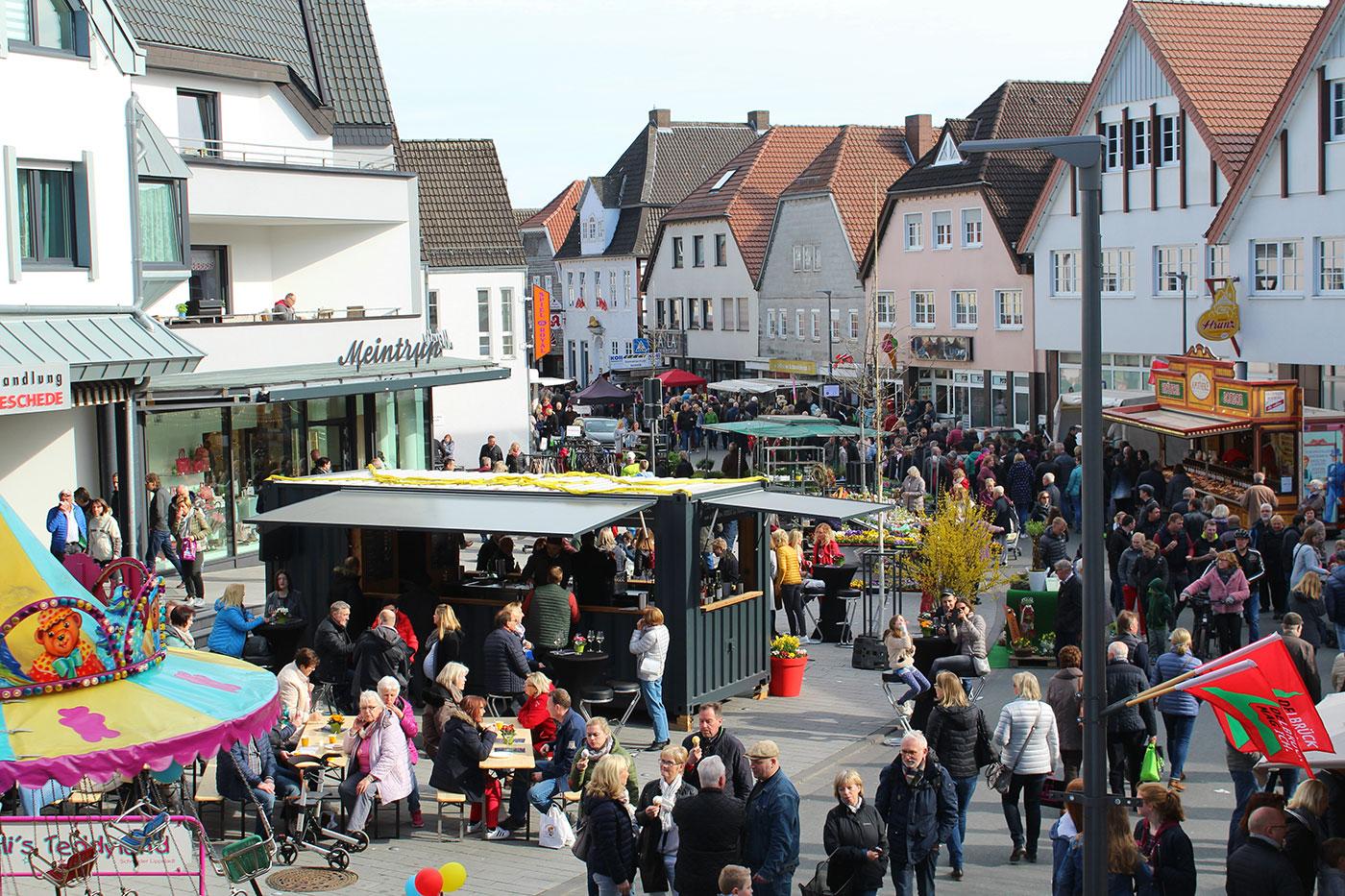 Corona: Frühlingsmarkt und Streetfoodfestival in Delbrück finden nicht statt