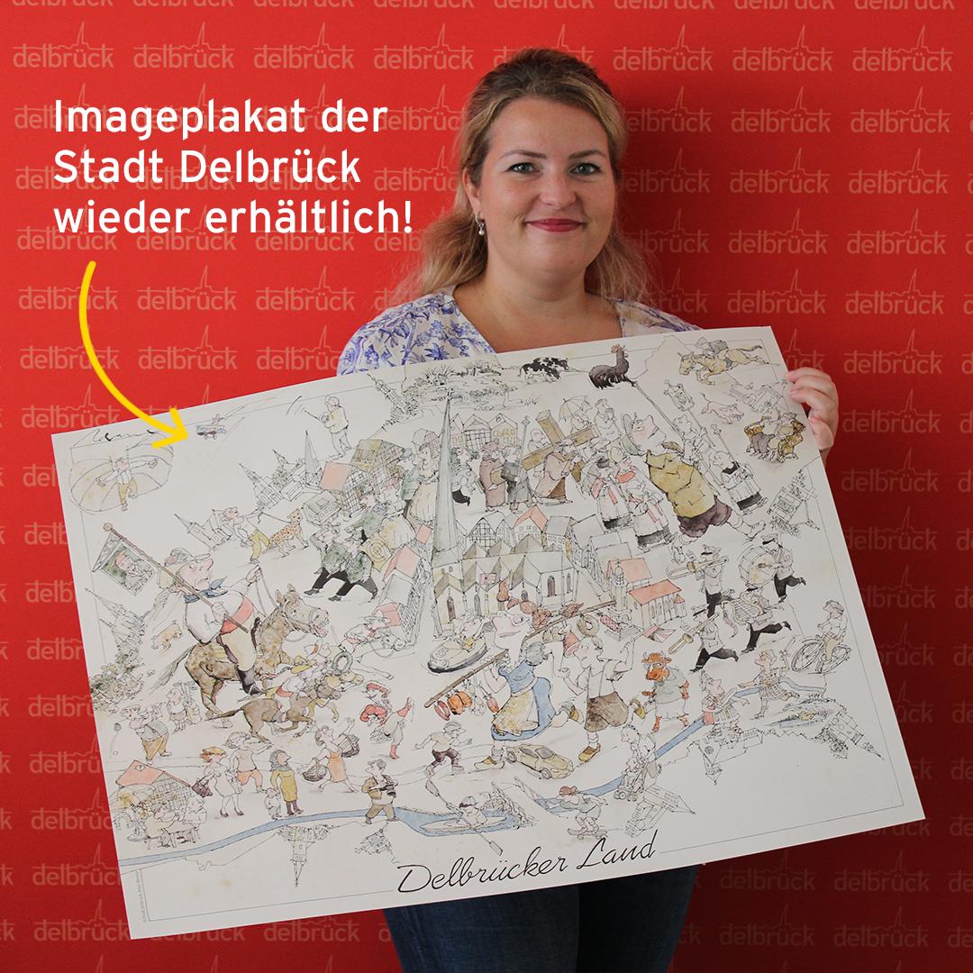 Imageplakat der Stadt Delbrück gibt es wieder!